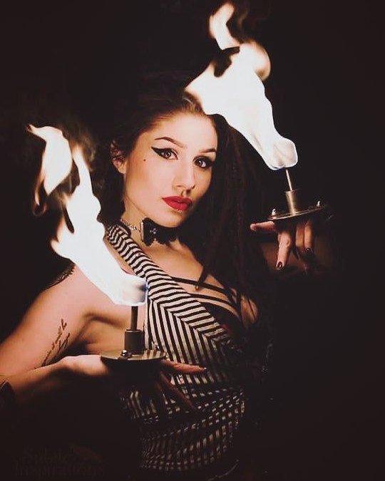 Gamma Ra Vancouver Fire Dancer
