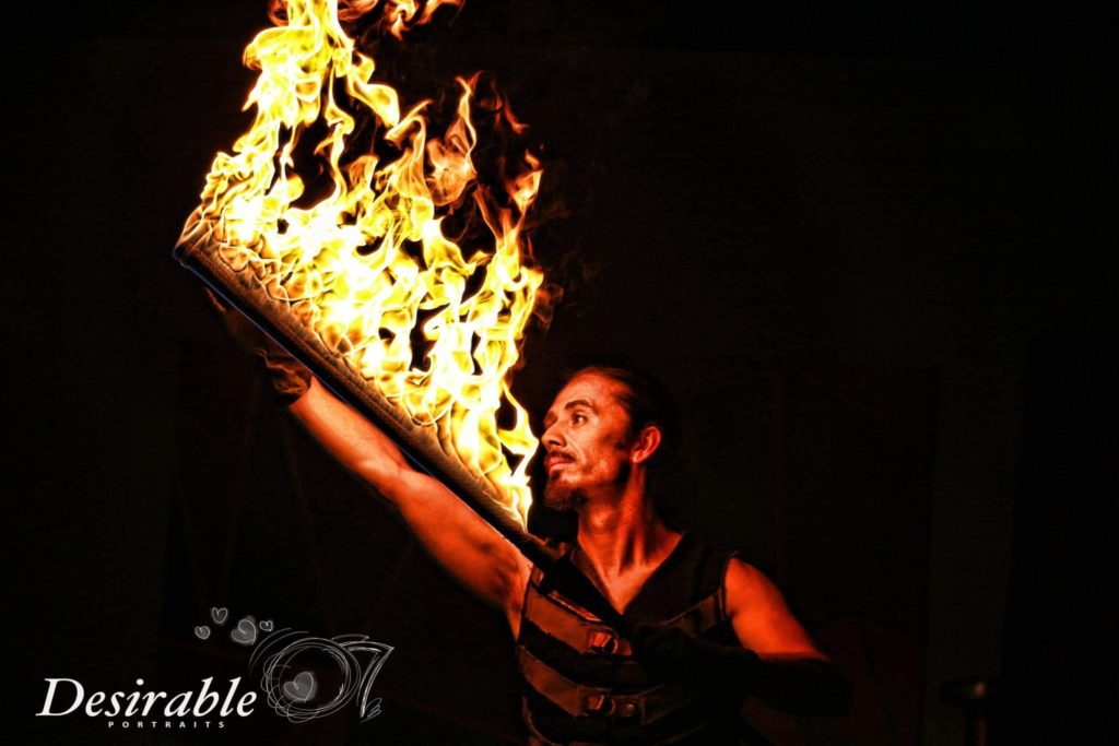Philadelphia Fire Entertainment Terry Fields Flamewater Circus