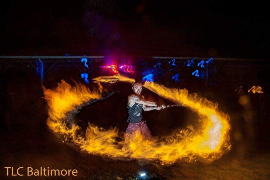 Philadelphia Fire Performer Terry Fields