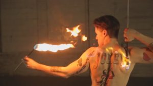 Pittsburgh Fire Performer Fire Eater Fire Breather Jo Kerr Flamewater Circus