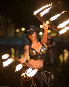 San Fransisco Fire Performer Hannah Elizabeth