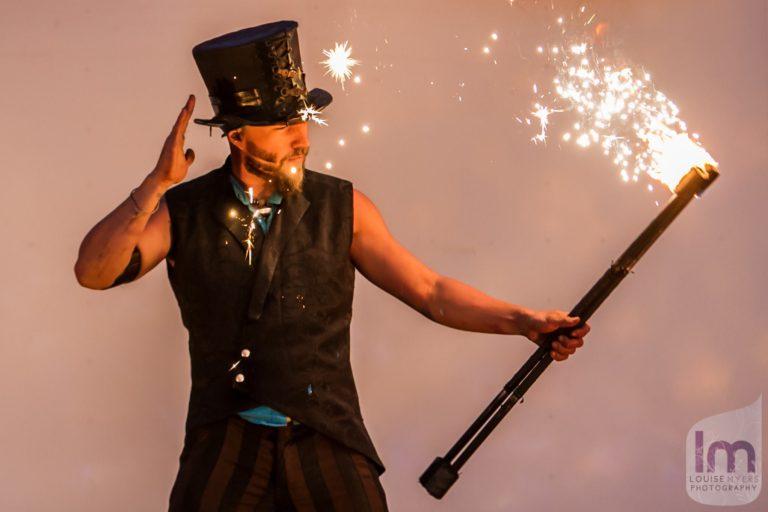 Shade Flamewater Circus Magic Fire Show