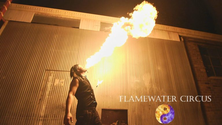 Shade Flamewater Fire Breathing