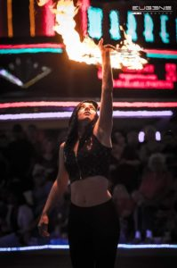 Madison Hooper - Wichita Fire Performer | Flamewater Circus