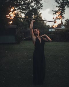 Haley Lane Knoxville Fire Dancer