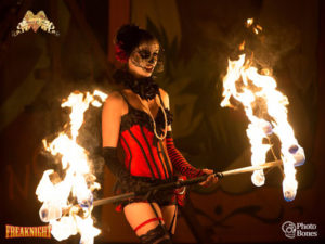 Los Angeles Fire Dancer Samantha Love