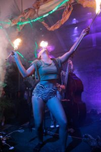 Ohio Fire Eater Columbus Fire Performer Maya Skye Flamewater Circus