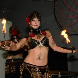 Fire Belly Dancers Marcia Flamewater Circus