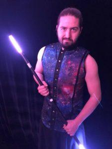 Montreal Light Show Dart Vapor Flamewater Circus