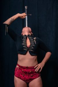 Montreal Sword Swallower Kaylie Kreatrix Flamewater Circus