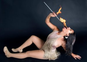 New York Fire Eater Brittny Flamewater Circus (3)