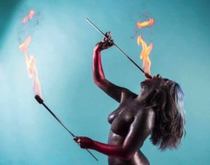 New York Fire Eater Brittny Flamewater Circus (5)
