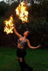 New York Fire Performer Brittny Flamewater Circus (2)