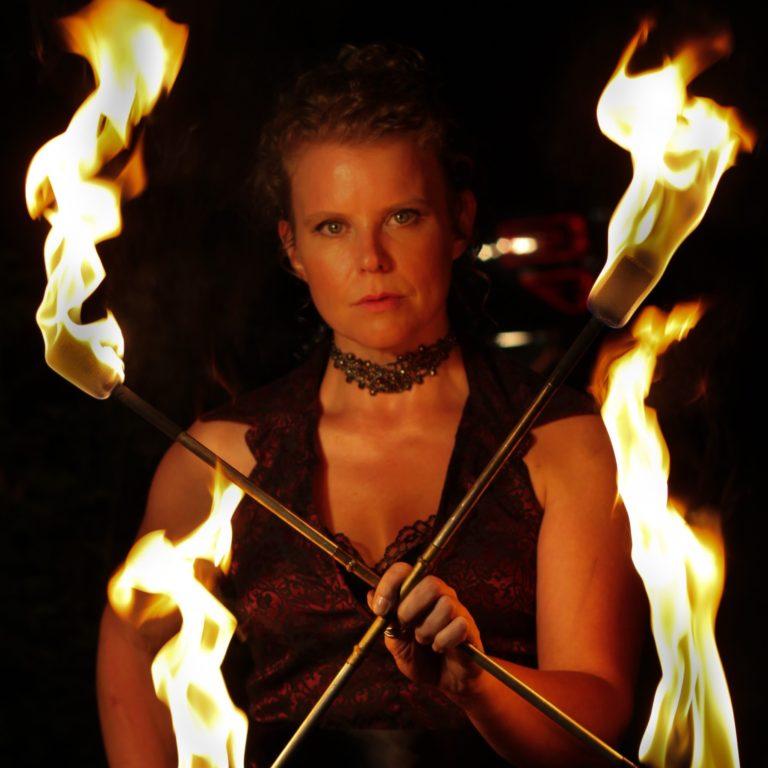 Winnipeg Fire Show Tara Patrice Flamewater Circus (2)