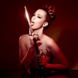 brisbane fire performer sword swallower for hire
