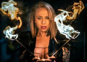 UK fire performers London fire eater fire dancer england