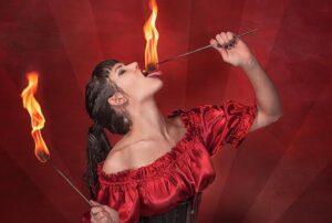 Sydney Fire Eater Roshie (3)