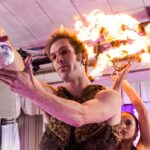 Vancouver Fire Performer Circus Show