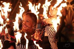 Vancouver-Island-Fire-Performers-Dannie-Goo-Flamewater-Circus
